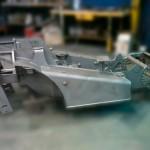 Corte, plegado, mecanizado y soldado de piezas industriales