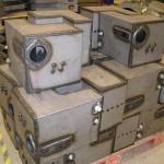 Corte, plegado, mecanizado y soldado de maquinaria industrial