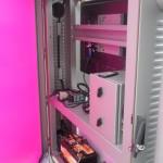 Prototipo de diseño industrial para fabricación. Panel solar 100% operativo con compuerta abierta