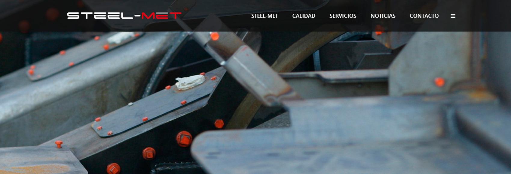 Steel-met empresa de fabricación de maquinaria industrial, consultoría industrial y empresa de diseño industrial y de producto estrena página web